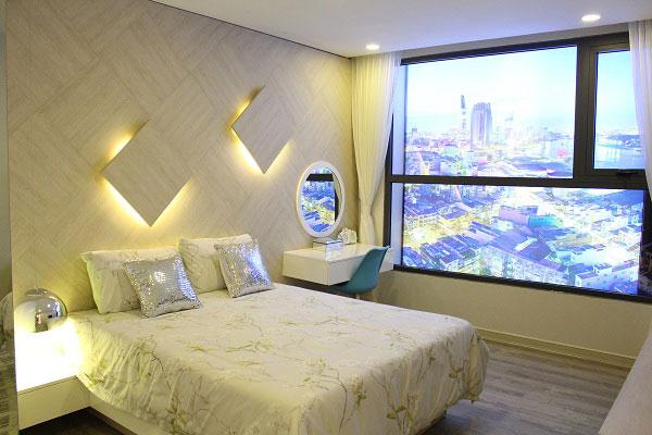 Phòng ngủ master Viva Riverside
